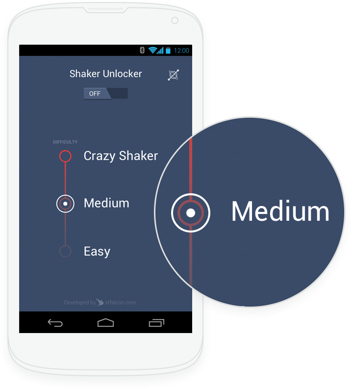 Shaker Unlocker for Android