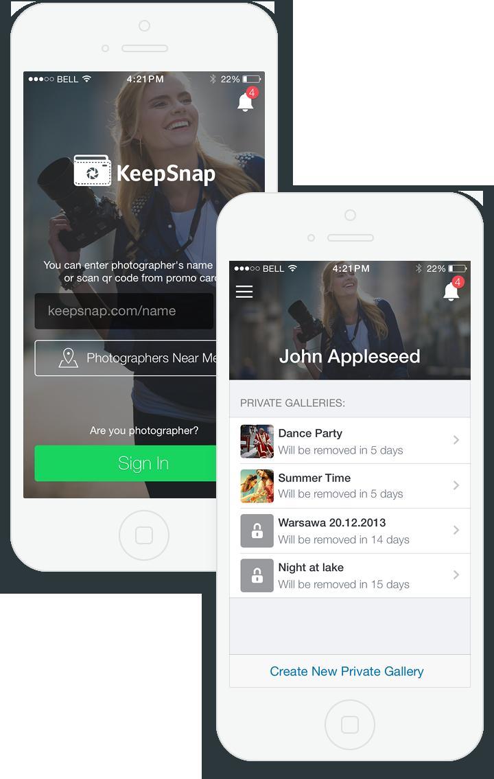 KeepSnap for iOS