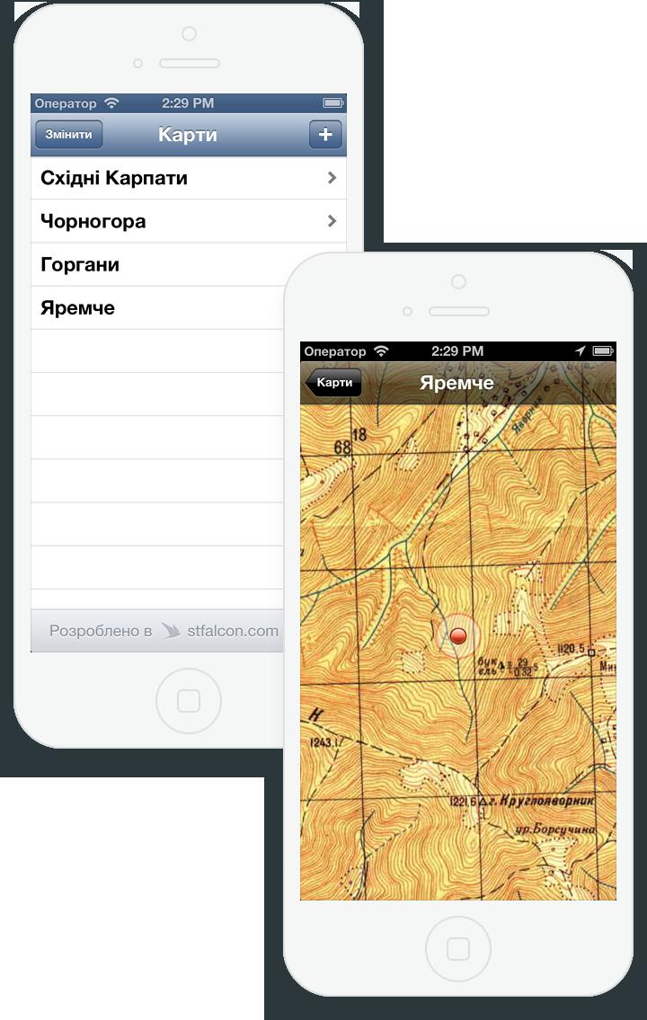Map Case для iOS