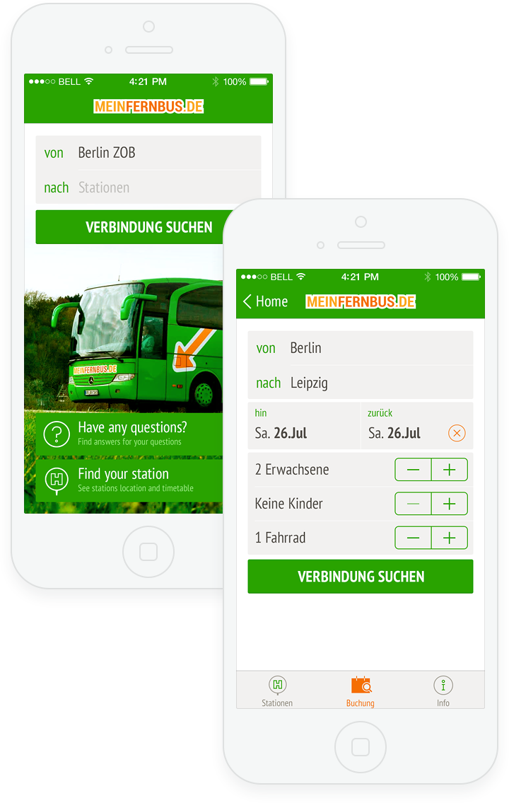 MeinFernbus for iOS