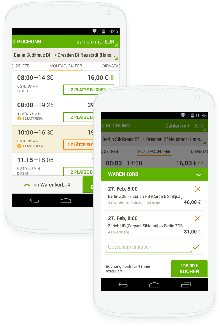 MeinFernbus for Android