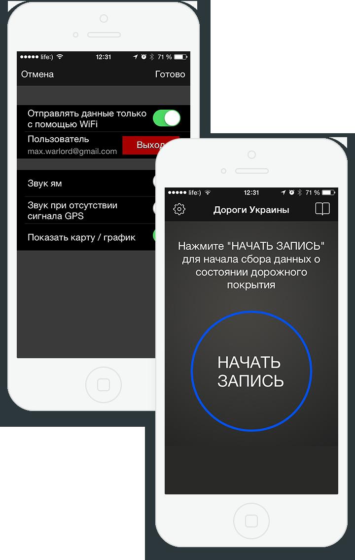 Дороги Украины для iOS