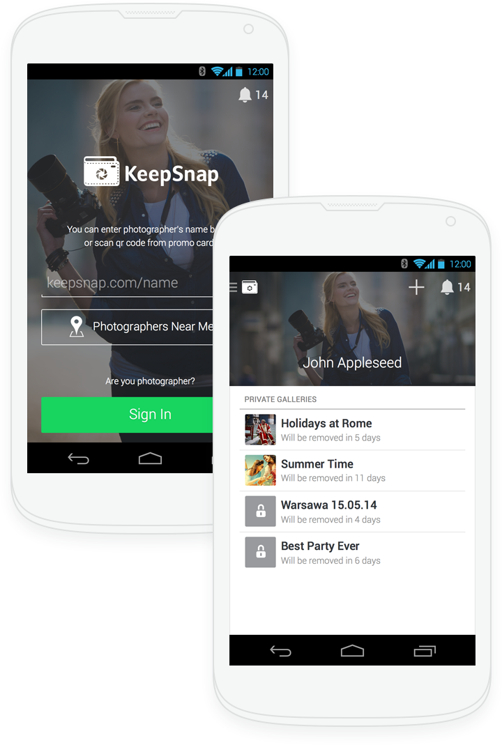 KeepSnap for Android