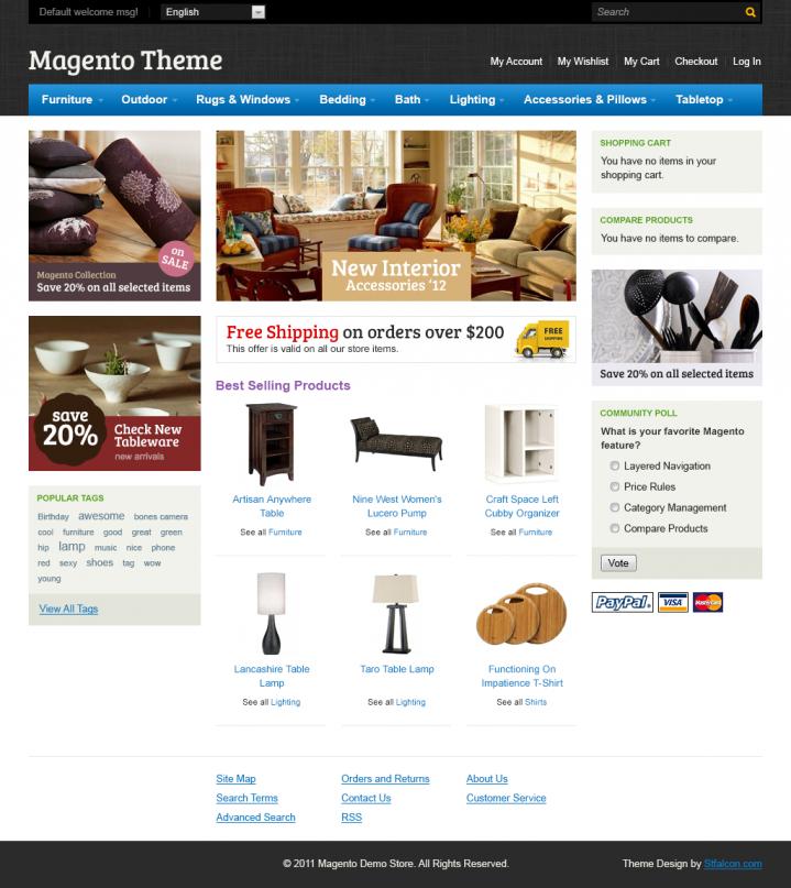 Design for Magento