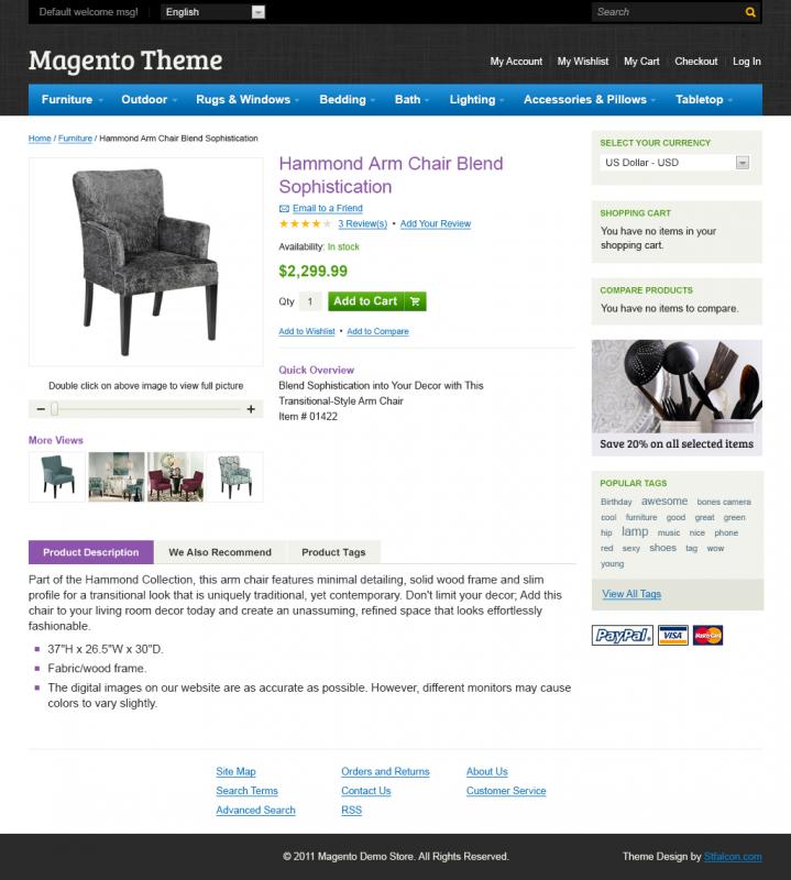 Дизайн для Magento