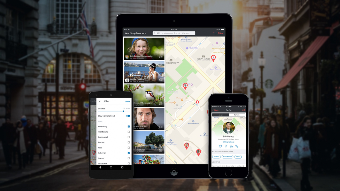 KeepSnap for Android and iOS